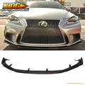 For 2014-2016 Lexus IS250 IS350 F Sport Only AG Style Front Bumper Lip -Carbon Fiber
