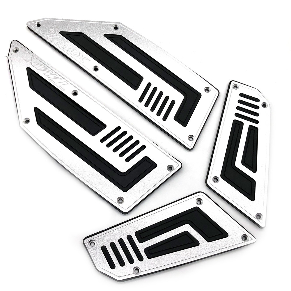 Motorcycle Footboard Steps Motorbike Foot Footrest Pegs Plate Pads For Yamaha T MAX 530 TMAX 530 2012 2013 2014 2015 2016Motorcycle Footboard Steps Motorbike Foot Footrest Pegs Plate Pads For Yamaha T MAX 530 TMAX 530 2012 2013 2014 2015 2016