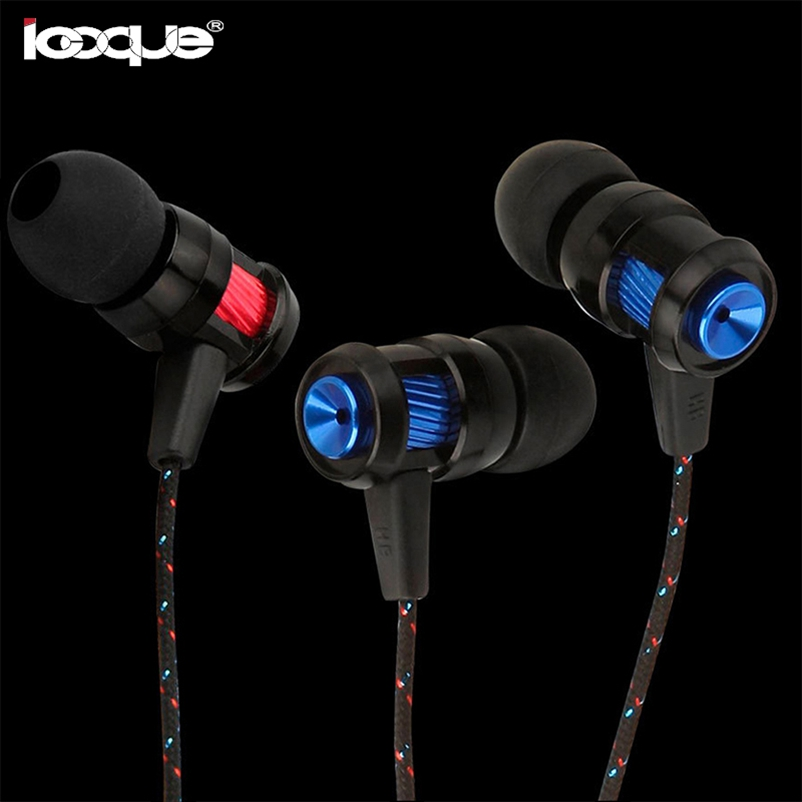 Stereo Earphones In-ear Wired Earbuds In Ear Phones Bass Music Headset 3.5mm Earphone With Microphone for Samsung Xaomi MP3 PC