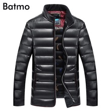 Batmo 2020 new winter high quality pu White duck down jacket