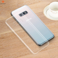 Clear Silicone Soft Case Voor Samsung Galaxy S5 S6 S7 Rand S8 S9 S10 Lite S20 Plus Ultra E Note 5 8 9 10 M10 M20 Telefoon Back Cover