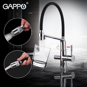 Gappo Schwarz Kuche Wasserhahn Gefiltert Wasserhahn Kuche