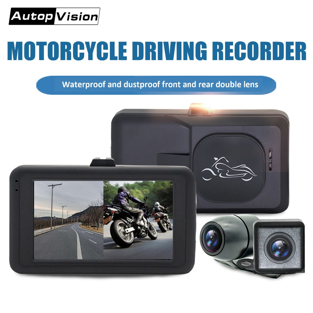 M21 smart Motorcycle Camera 3inch Display Dash Cam Motorcycle Recorder Loop Recording Installation Easy for scooter autobikeM21 smart Motorcycle Camera 3inch Display Dash Cam Motorcycle Recorder Loop Recording Installation Easy for scooter autobike