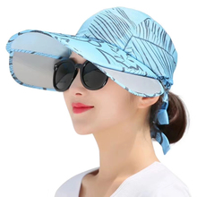 2019 new summer sun cap wimen hat UV protection outdoor big