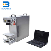 High Precision 20w fiber laser machine with Raycus laser source for sale
