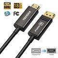 Порт дисплея/DP к HDMI волоконно-оптический кабель  поддержка 4 K/60Hz 4:4:4 HDMI2.0 Стандартный DP порт дисплея к HDMI Кабель-адаптер