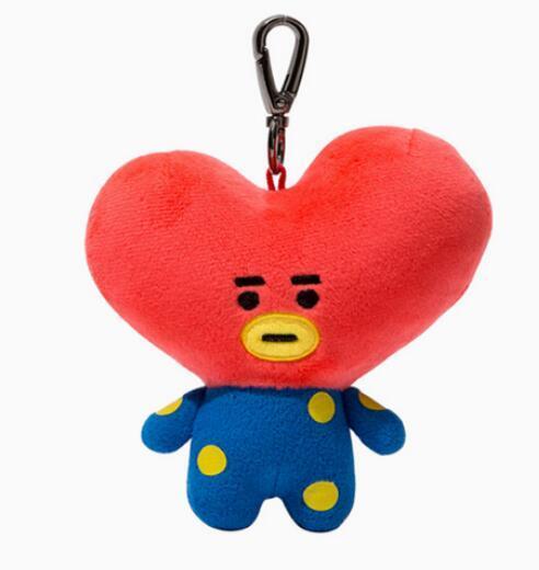 Брелок плюшевая игрушка к-поп BTS в ассортименте 5
