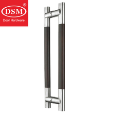Entrance Door Pull Handle Made Of Solid Wood For Front/Entry/Store Glass/Wooden/Metal Doors PA-208-45*25*600mm