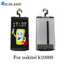 original For Oukitel K10000 LCD Display+TP Touch Screen Digitizer Assembly lcds +Tools for 5.5″ Oukitel K10000 Android Quad Core