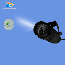 2016 Popular Hot Sale Cheap 1100 Lumens LED Projector Outdoor Waterproof 20W Floor Sign Logo Light Projector with 1 Ad Color Gob