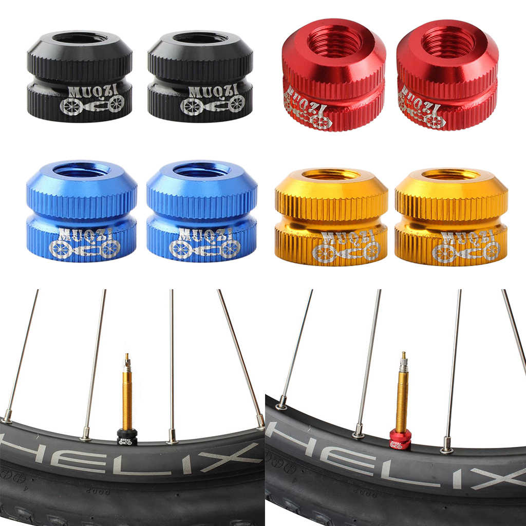 Inner Tube Valve French Nozzle Nut Mountain Bike Cycling Repair Road Bicycle