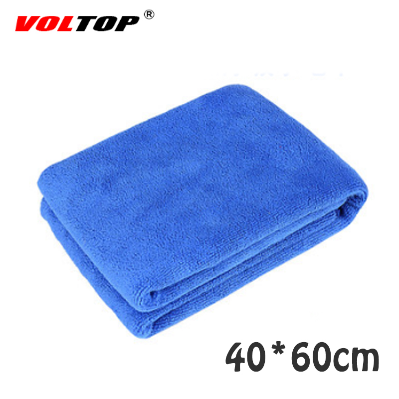 Image 5 - VOLTOP 40X60cm Cleaning Tool Washing Cloths Car Accessories Super Absorp Thicker Microfiber Towel Home Office Care Detailing-in Sponges, Cloths & Brushes from Automobiles & Motorcycles