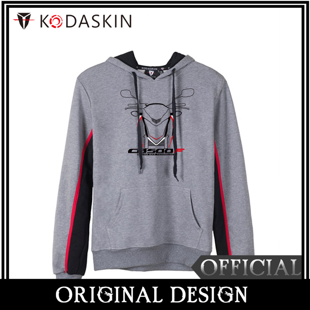 KODASKIN Original CB500F Motorcycle Hoodies Men Cotton Round Neck Casual Printing Sweatershirt Hoodies Sweater for CB500F in Shirts Tops from Automobiles Motorcycles