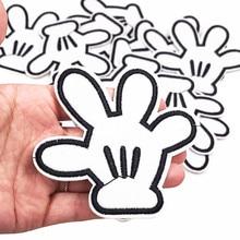10 шт Микки ручной Утюг на шитье с вышивкой в стиле петчворк для куртки наклейки для одежды DIY аксессуары для одежды#352