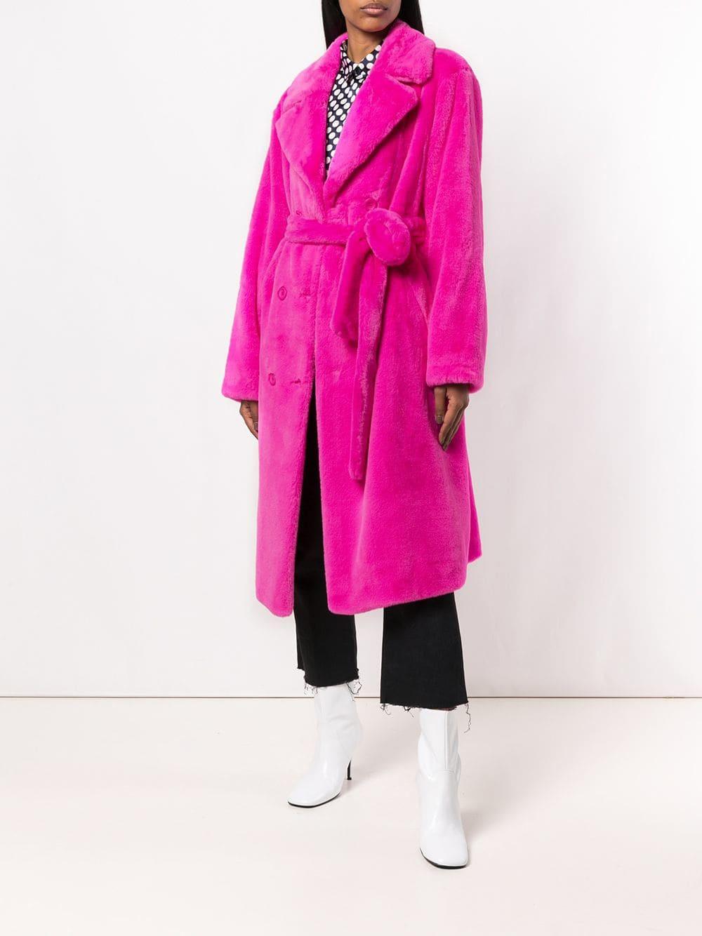Длинное женское пальто, сексуальное, для ночного клуба, знаменитостей, модные вечерние пальто из искусственного меха, зимняя теплая женская верхняя одежда
