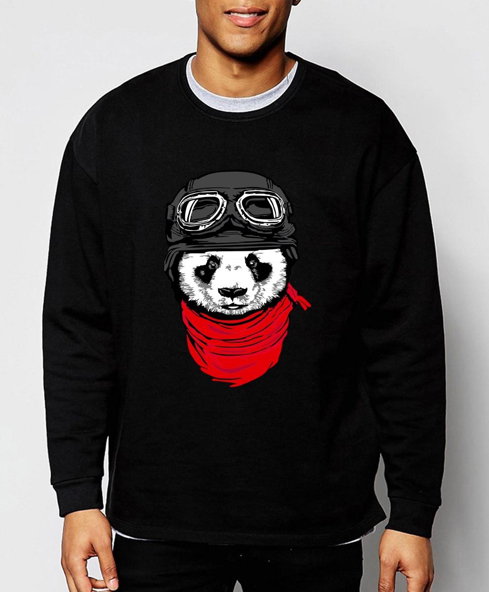 cute cartoon Panda 2019 hot sale spring winter fashion The Adventurer Cat sweatshirt hoodies men hip hop loose fit tracksuit men