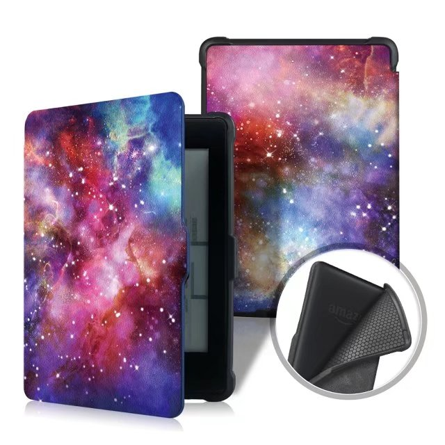 For Amazon Kindle Paperwhite 1 2 3 Case E-book Cover 2015 2017 Magnetic PU Leather Smart Case for Kindle Paperwhite 1 2 Cover 6