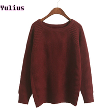 TWOTWINSTYLE Elegant Knitting Sweater Women Long Sleeve V Neck Pullover Tops Female