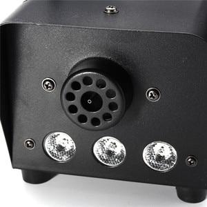 Image 5 - RGB LED รีโมทคอนโทรลแสง DJ Party Stage ควัน Thrower ที่มีสีสัน Sprayer Zimne Ognie Disco Dj งานแต่งงาน 500 W