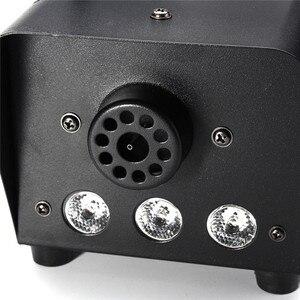 Image 5 - RGB LED Fog Machine Remote Control Lighting DJ Party Stage Smoke Thrower Colorful Sprayer Zimne Ognie Disco Dj Wedding 500W