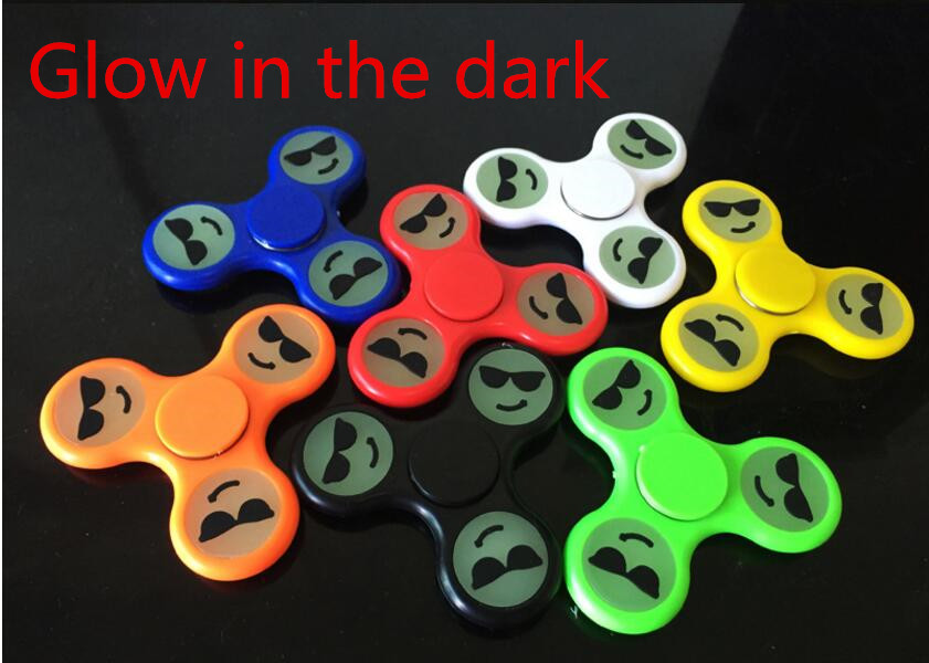 8 Styles Tri Spinner Fidget Toy Plastic EDC Hand Spinner For Autism And ADHD Gift Free