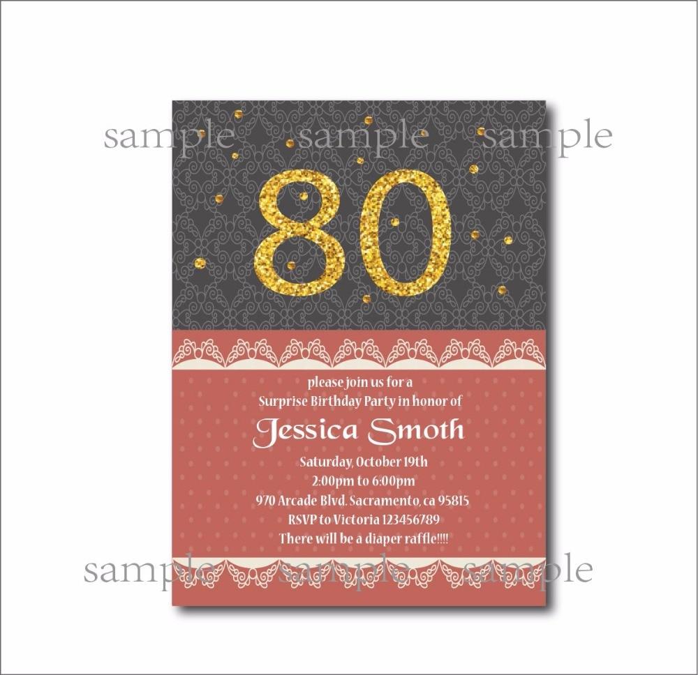 Medium Crop Of 90th Birthday Invitations