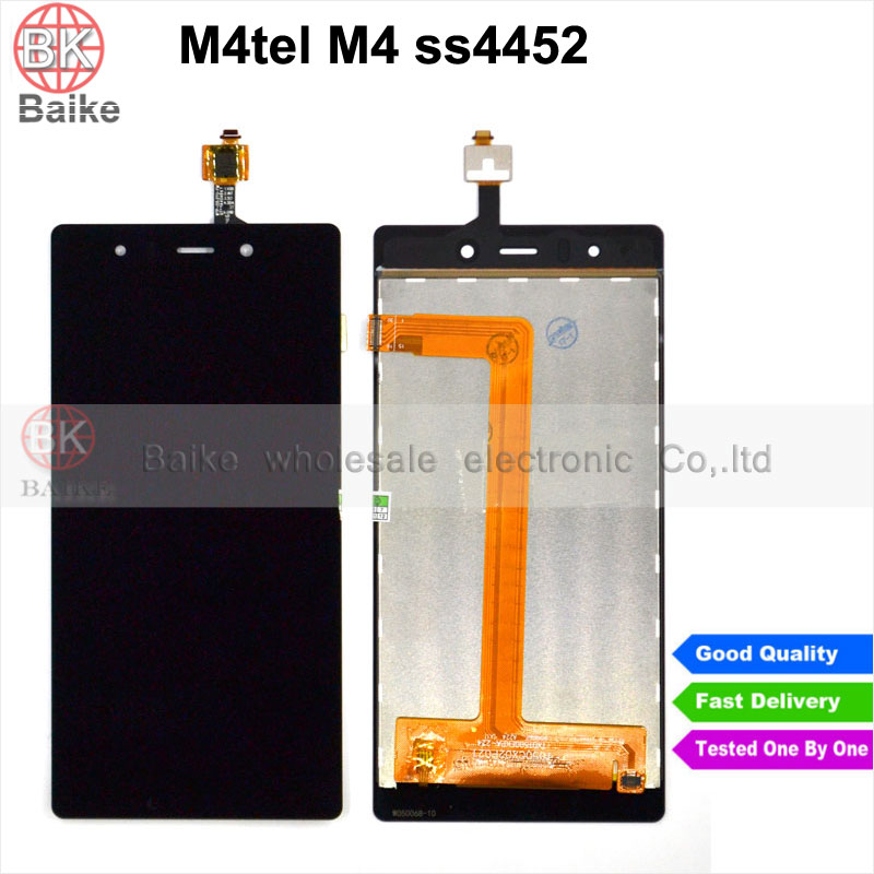 M4 tel M4 ss4452 Lcd screen for ME TEL SS4452 Display With Touch Screen digitizer assembly 100% Tested