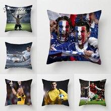 Fuwatacchi футбольная подушка для игр, чехол для спортивной съемки, набивная наволочка для домашнего дивана, украшение, наволочки для Кубка мира