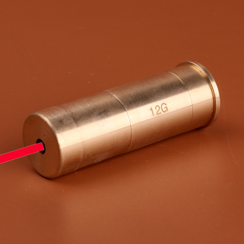 ohhunt Tactical 12 GA Cartridge Red Laser Bore Sighter Boresighter Sight Boresight for Hunting