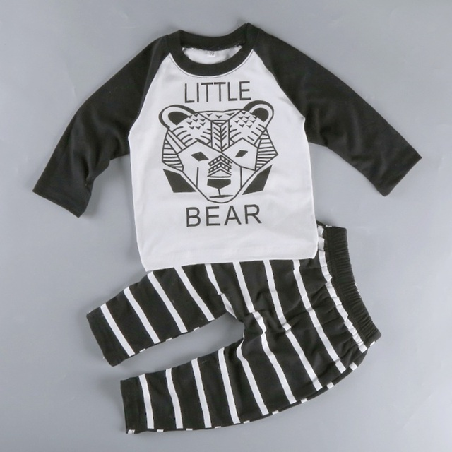 newborn little Kids boys clothes set Baby boy clothes fashion toddler baby clothing,toddler bebe set Age 0-2 year  C6275
