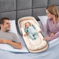 2018 neue Tragbare Baby Bett Multifunktions Rucksack Kinderbett für Neugeborenen Ourdoor Kindergarten Reise Klapp Baby Krippe Infant Kleinkind Cradle