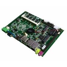 Fansız Intel J1900 dört çekirdekli İşlemci ITX anakart çift LAN anakart Mini PCIE WIFI mSATA SATA endüstriyel anakart