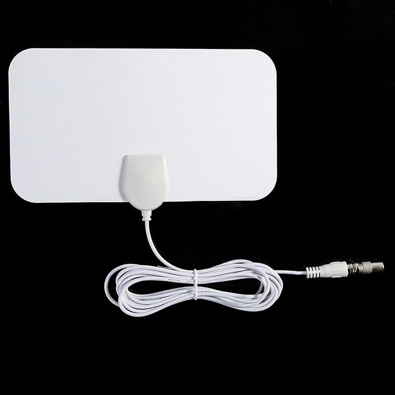 Antenne de télévision hd Ultra-mince de la gamme Freeview numérique d'intérieur numérique antenne de Signal de câble de Capture de Signal élevé Amplifie l'antenne