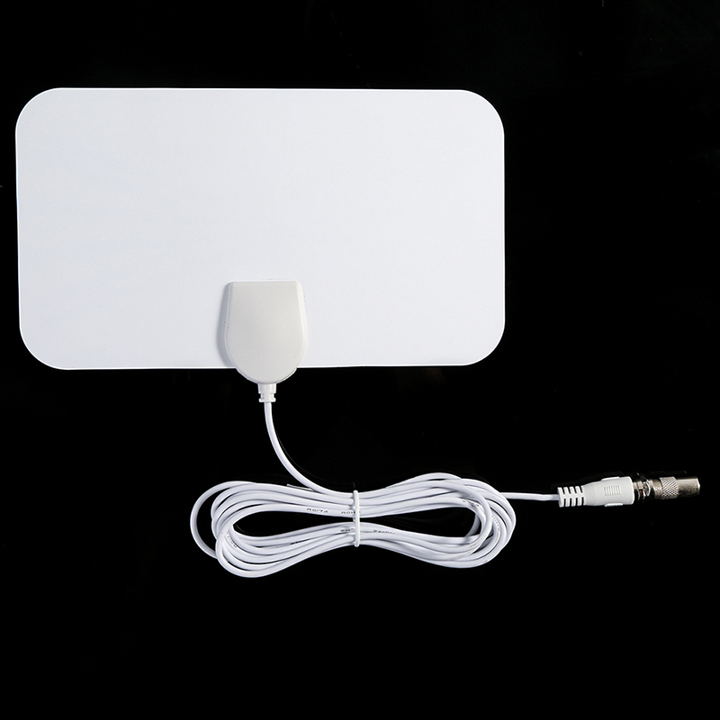 Digital Indoor Digital Freeview Range Ultra-thin Antena TV HDTV Antenna High Signal Capture Cable Signal Amplifie Antenna
