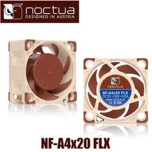 Noctua NF A4x20 flx 40mm 40x40x20mm 5000 rpm 14.9 db (a) pc 냉각 팬 냉각기 팬 라디에이터 팬 컴퓨터 케이스 및 타워 팬