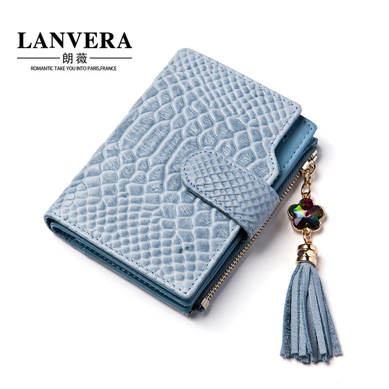 European and American fashion new ladies leather wallet snake pattern suede leather wallet women's short wallet 2016 new arriving pu leather short wallet the price is right and grand theft auto new fashion anime cartoon purse cool billfold