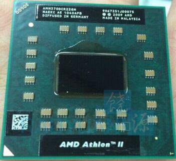 AMD Athlon II Dual-Core Mobile N370 - AMN370DCR22GM 2.5Ghz Cpu Latop Processor Socket S1 Sale ZM82 N930 P960 M300