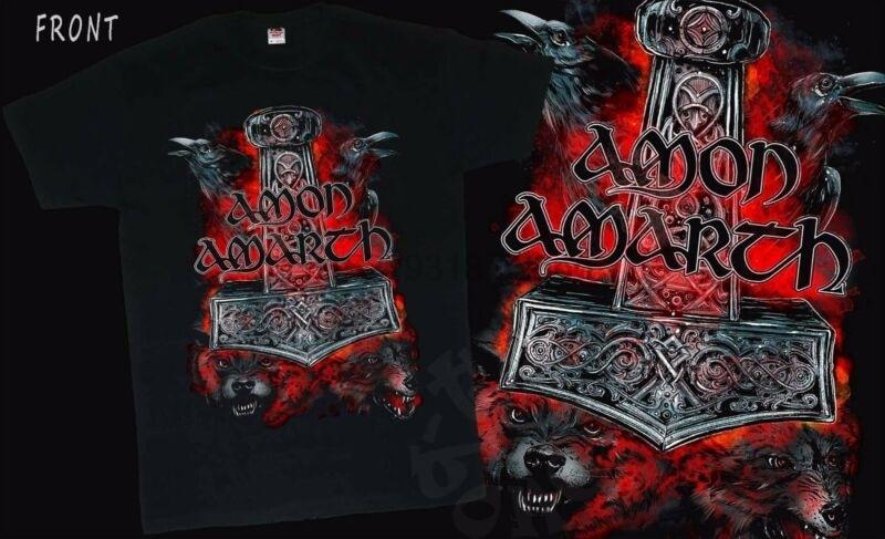 Swedish melodic death metal band,T/_shirt-SIZES:S to 6XL AMON AMARTH