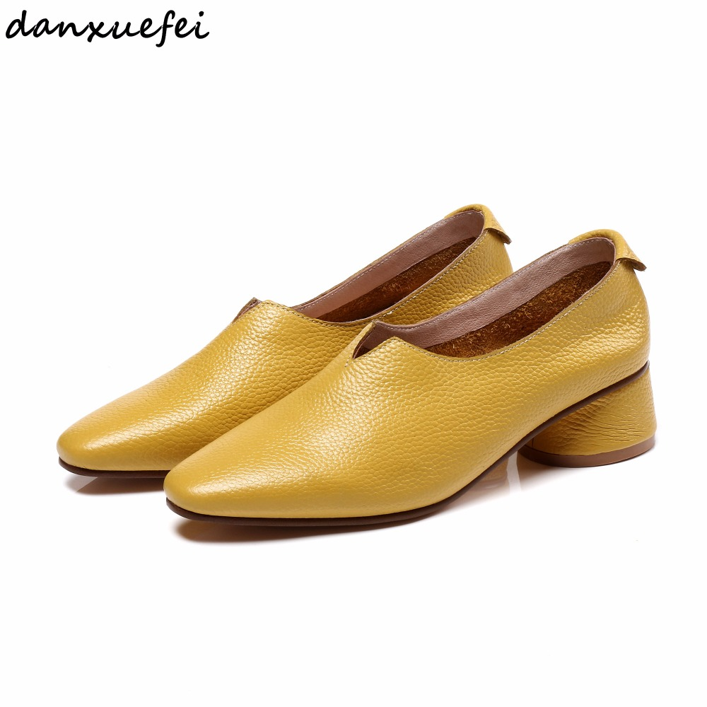 4 Color plus size 33 43 women's genuine leather slip on flats loafers brand designer leisure ballerinas moccasins shoes women