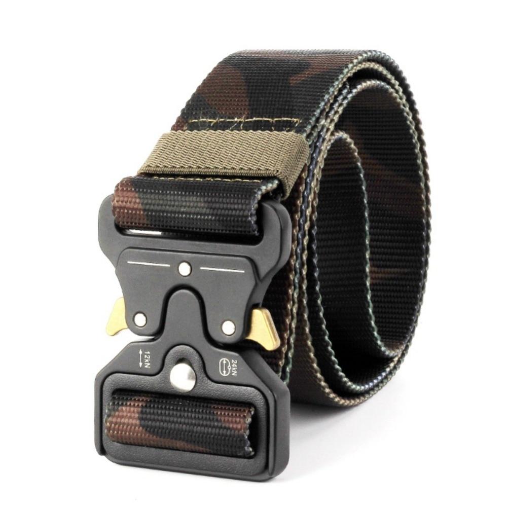Gürtel Nylon Metall Buckled Verstellbaren Gürtel Cobra taktik Bund Für Jagd Camping Wandern Außen Sport Zubehör