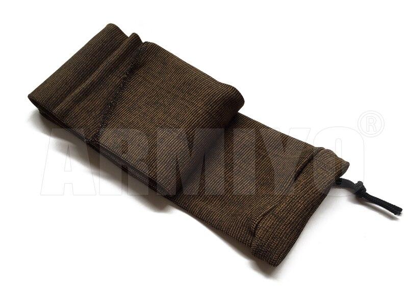 tratado dustproof rifle protetor airsoft coldre manga de armazenamento tecido caça