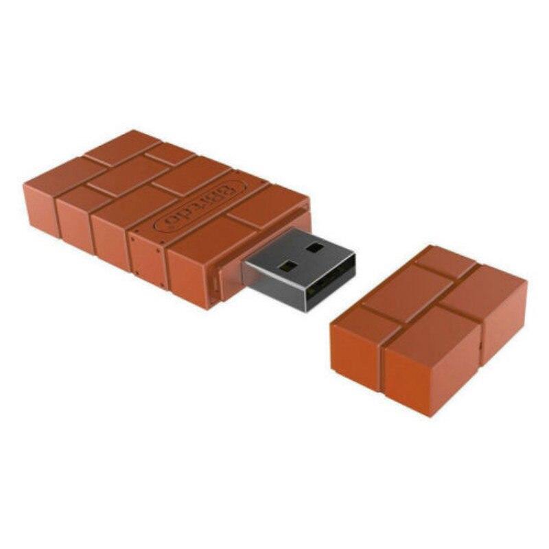 Tragbare Drahtlose Bluetooth Adapter 8 Bitdo Empfänger USB Konverter Für Nintendo Schalter Adapter Gamepad Empfänger Leichte