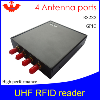 UHF RFID reader 915MHZ impinj R2000 4 antenna port fixed Reader for  warehouse logistic production
