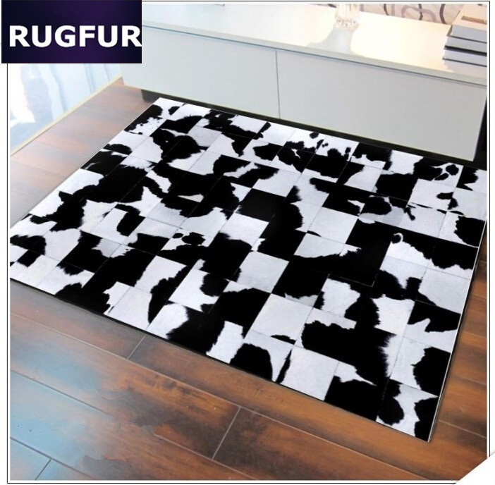 Aliexpress.com : Buy European Cowhide Leather Rugs And