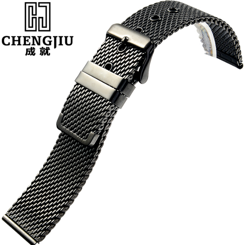 Stainless Steel Watch Straps For Daniel Wellington IWC Milanese Mesh Bracelets Women Metal Cinturino Metallo Masculino Watchband
