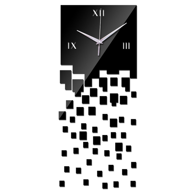Limited Acrylic wall clock for home decor