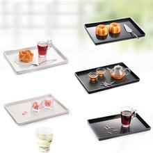 Dinner Plates Tray Dinnerware Kitchen Grain Chain Restaurant With Melamine A5 Tableware