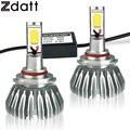 Zdatt 2 Unids 9006 HB4 Bombilla Led de Alta Potencia Bombillas De Los Faros 60 W 3000LM Brillante Estupendo 6000 K LED de Automóviles faro