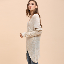 Stylish V-Neck Pullover sweater –  Long sleeve thick sweater