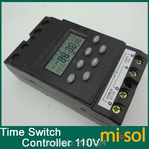25A interruptor do temporizador programável